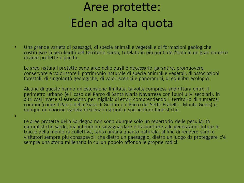Aree protette: Eden ad alta quota