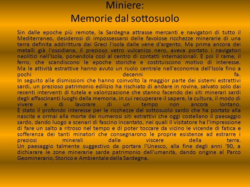 Miniere: Memorie dal sottosuolo