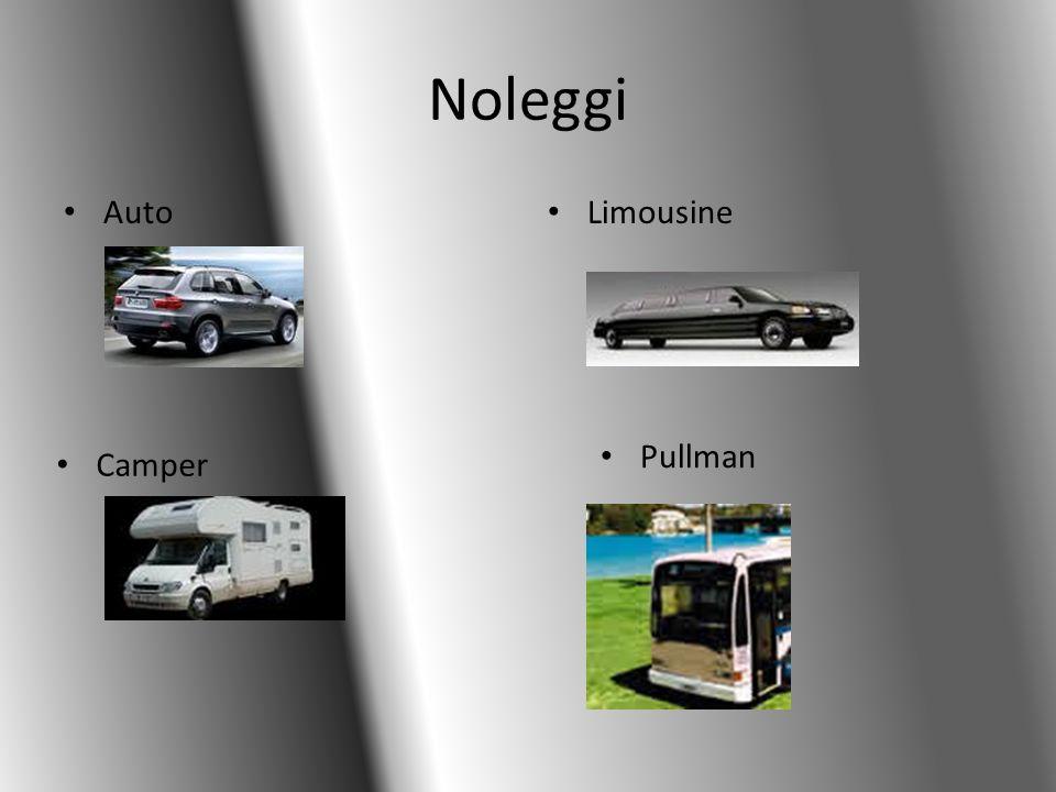Noleggi Auto Limousine Pullman Camper