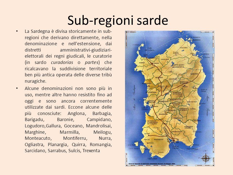 Sub-regioni sarde