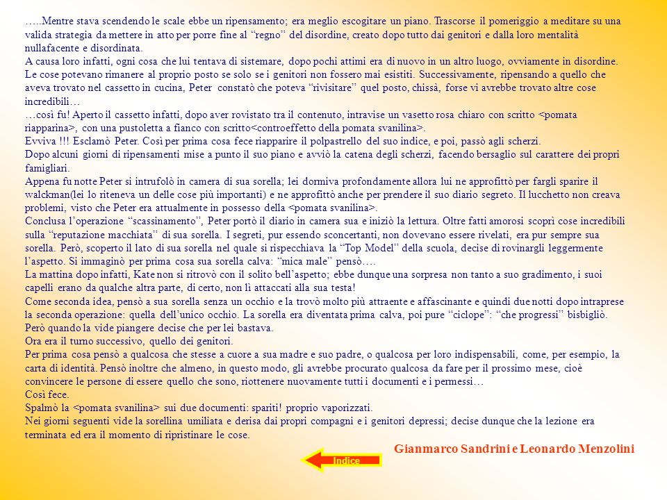Gianmarco Sandrini e Leonardo Menzolini