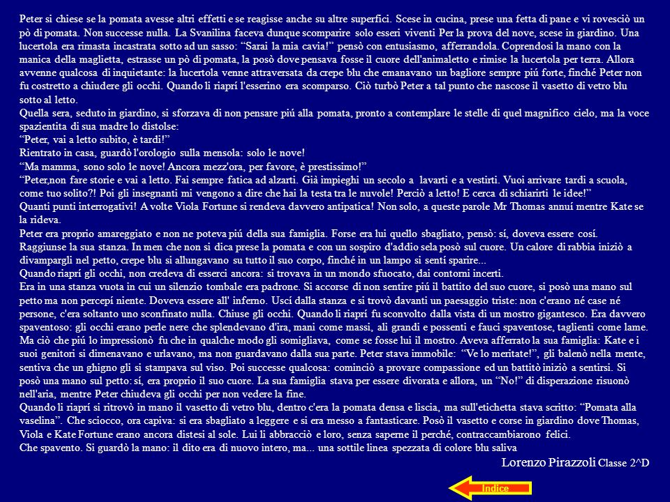 Lorenzo Pirazzoli Classe 2^D