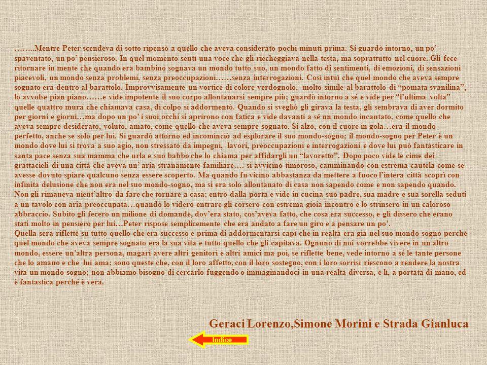 Geraci Lorenzo,Simone Morini e Strada Gianluca