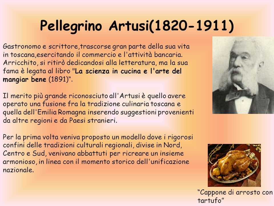 Pellegrino Artusi(1820-1911)