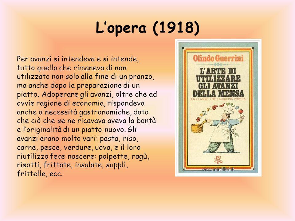 L'opera (1918)