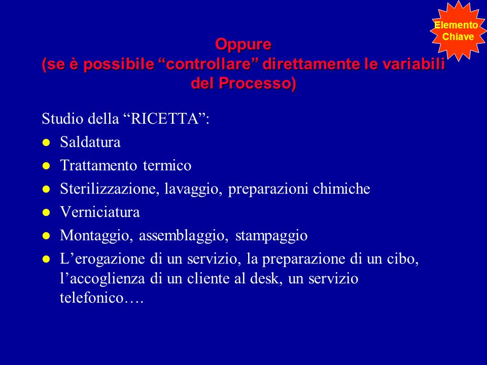 Studio della RICETTA : Saldatura Trattamento termico