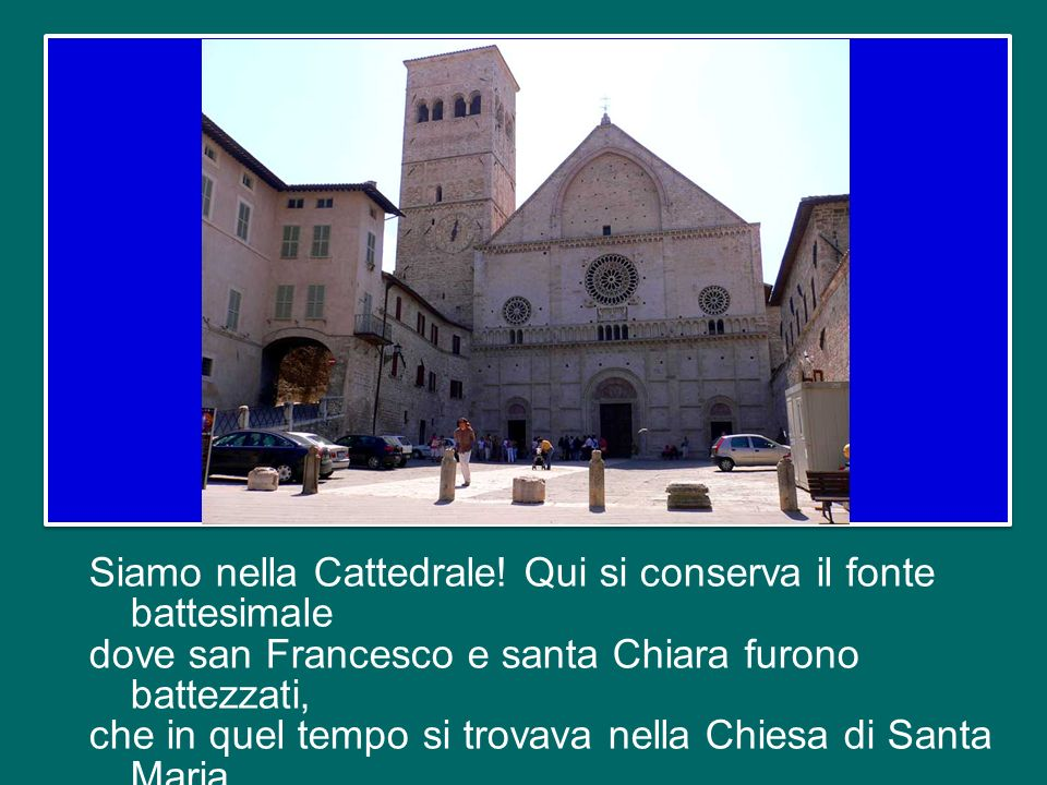 Siamo nella Cattedrale