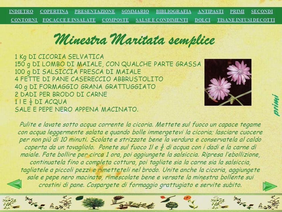Minestra Maritata semplice