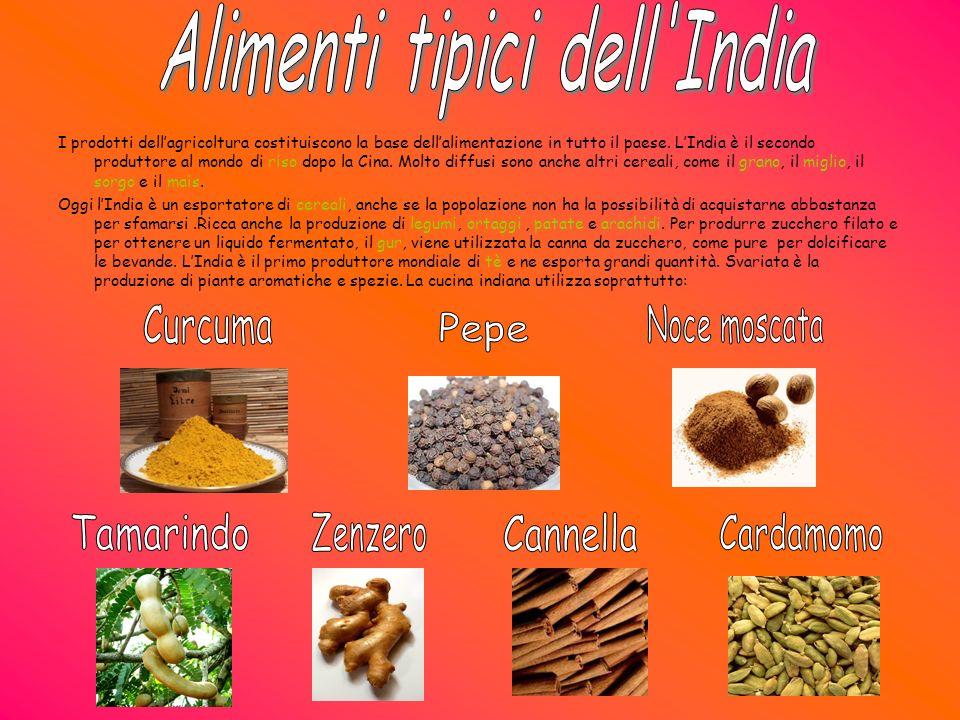 Alimenti tipici dell India