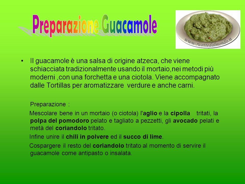 Preparazione Guacamole