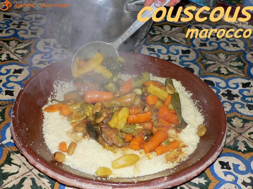couscous marocco djemme – slow travel