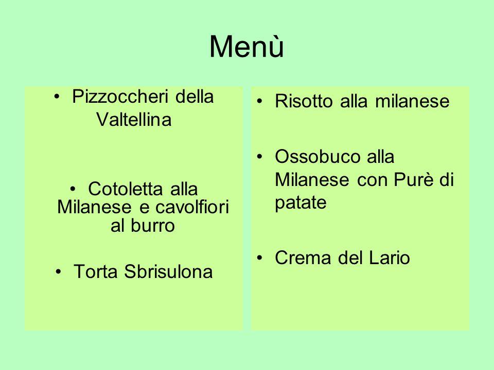 Cotoletta alla Milanese e cavolfiori al burro