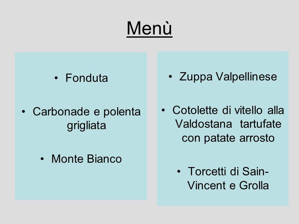 Menù Zuppa Valpellinese Fonduta
