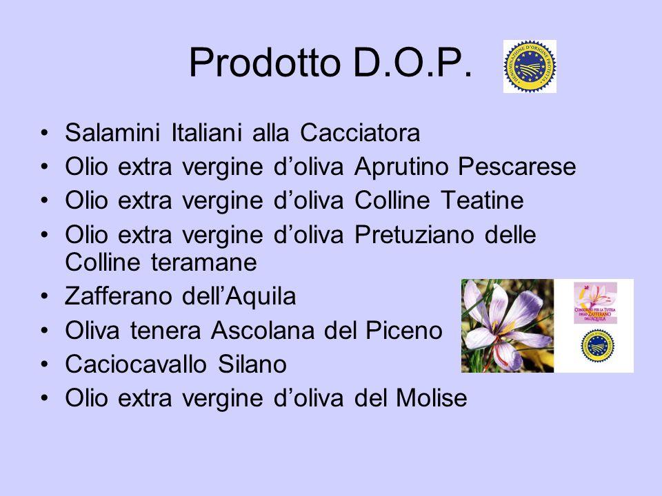 Prodotto D.O.P. Salamini Italiani alla Cacciatora