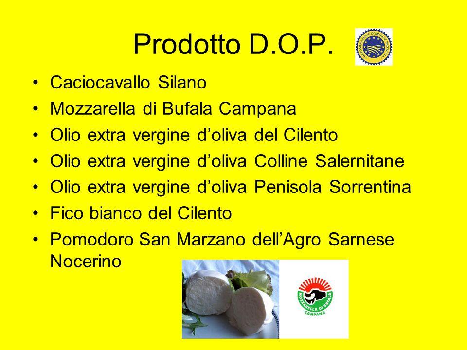 Prodotto D.O.P. Caciocavallo Silano Mozzarella di Bufala Campana