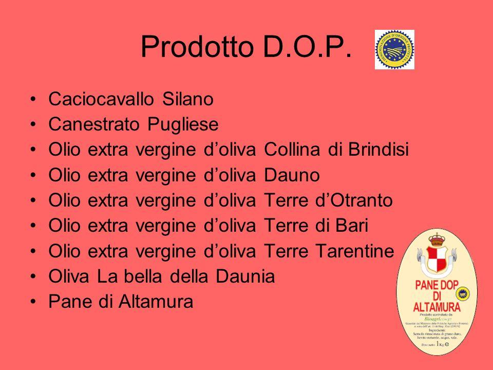 Prodotto D.O.P. Caciocavallo Silano Canestrato Pugliese