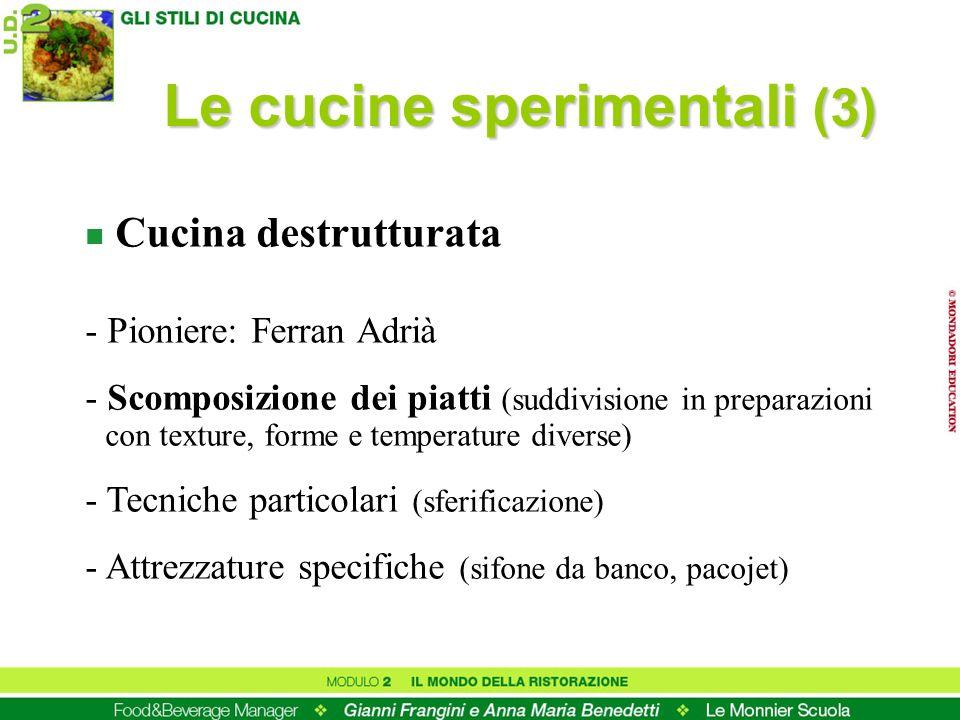 Le cucine sperimentali (3)