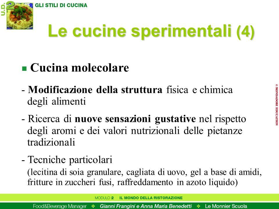 Le cucine sperimentali (4)