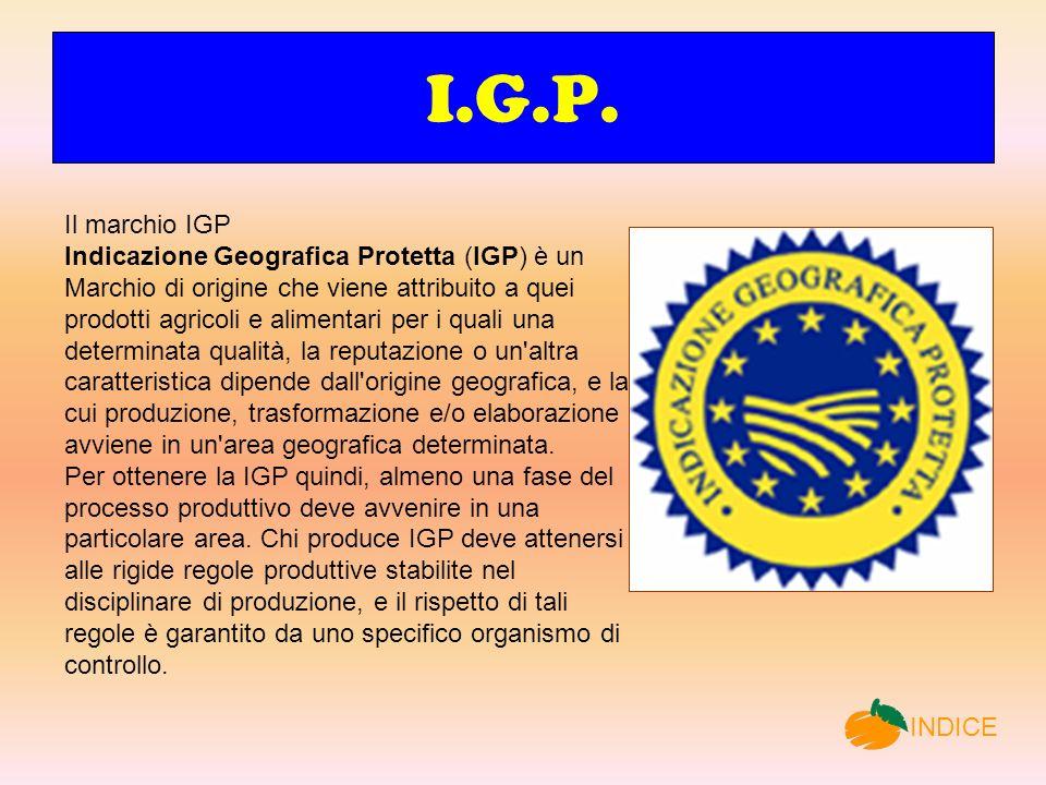 I.G.P. Il marchio IGP.