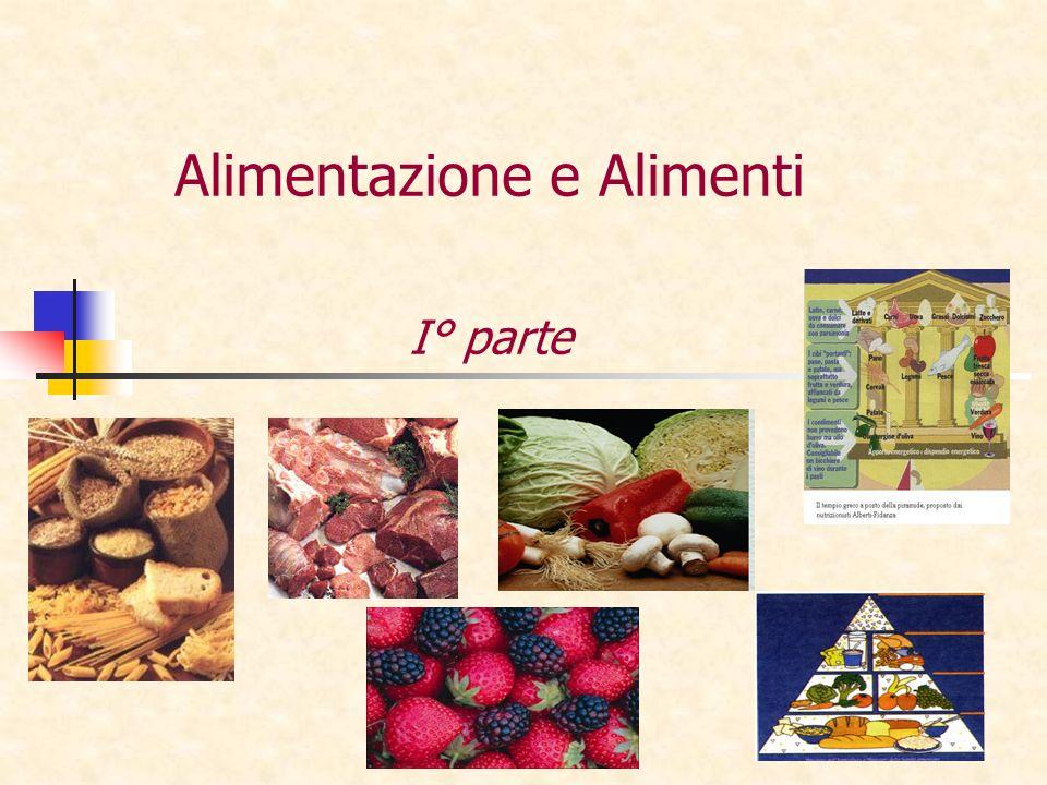 Alimentazione e Alimenti