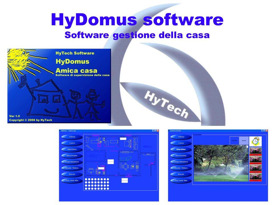 HyDomus software Software gestione della casa