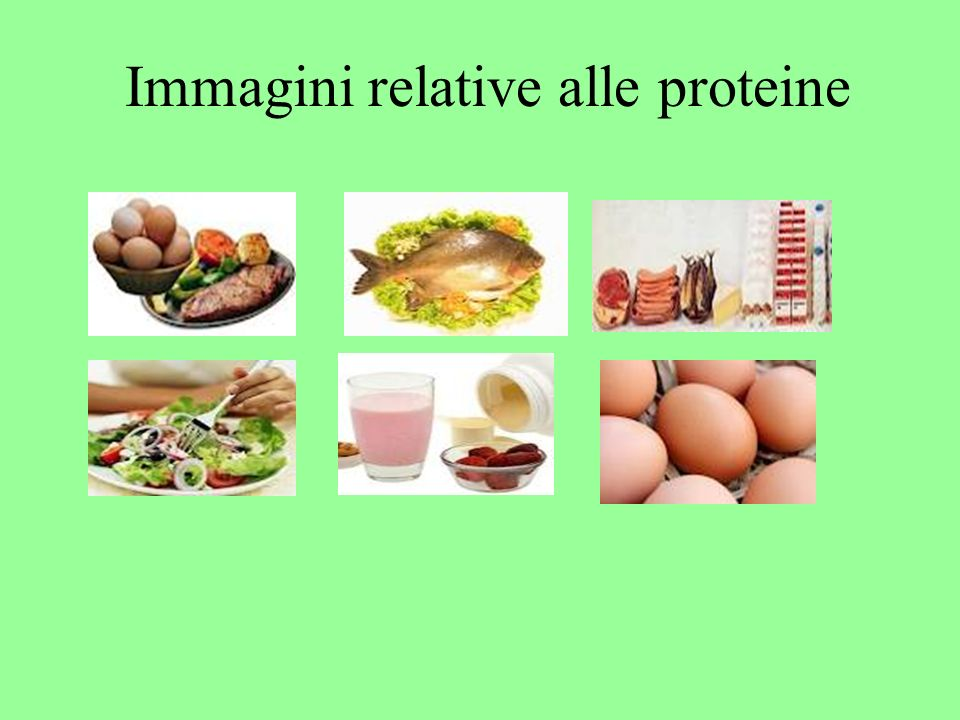 Immagini relative alle proteine