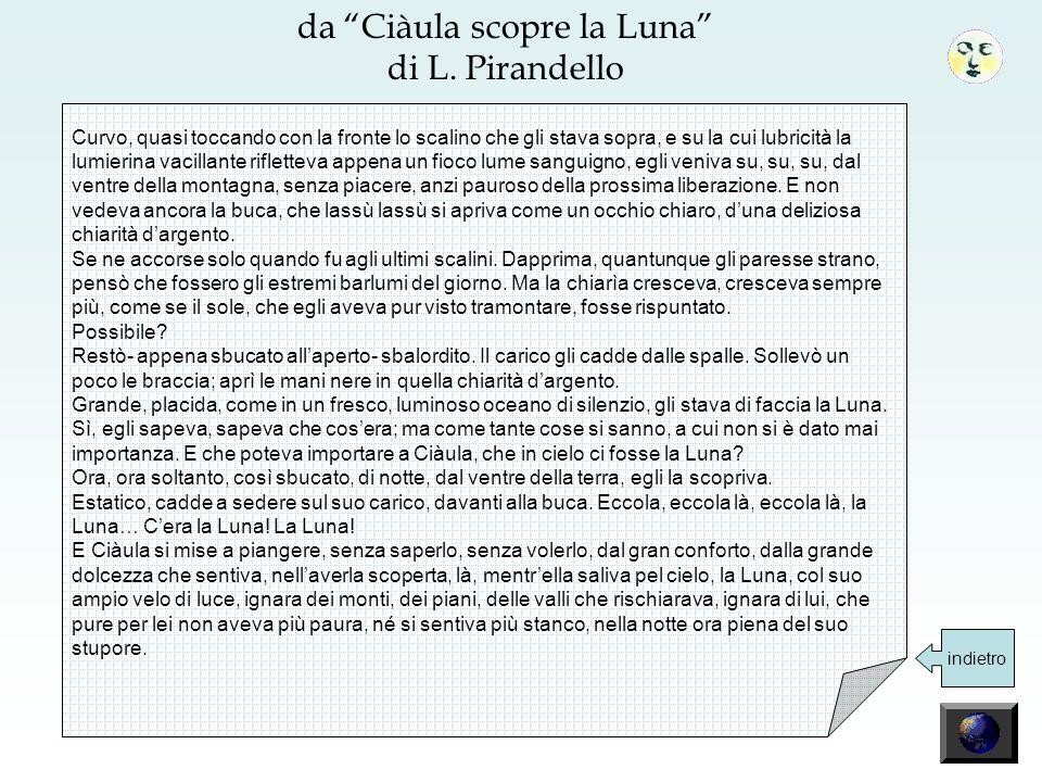 da Ciàula scopre la Luna di L. Pirandello