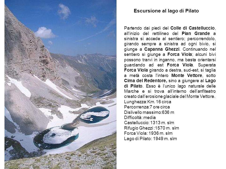 Escursione al lago di Pilato