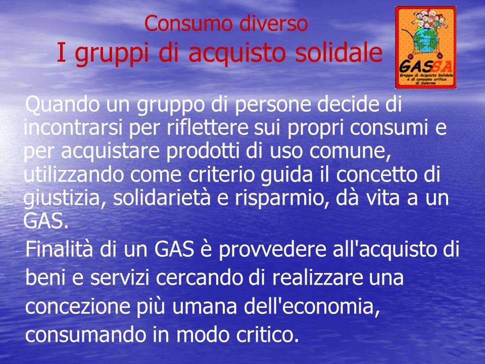 I gruppi di acquisto solidale