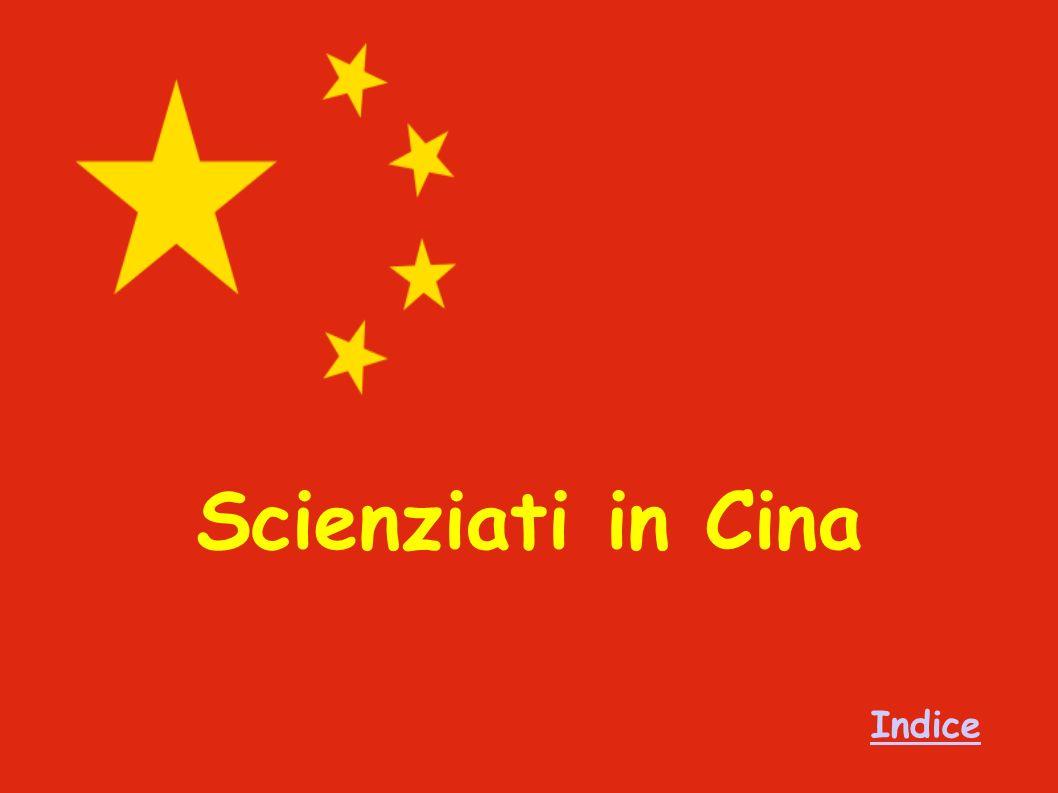 Scienziati in Cina Indice