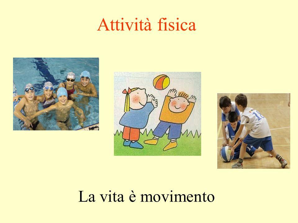 Attività fisica La vita è movimento