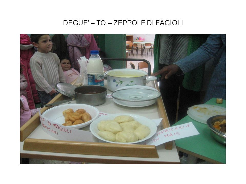DEGUE' – TO – ZEPPOLE DI FAGIOLI