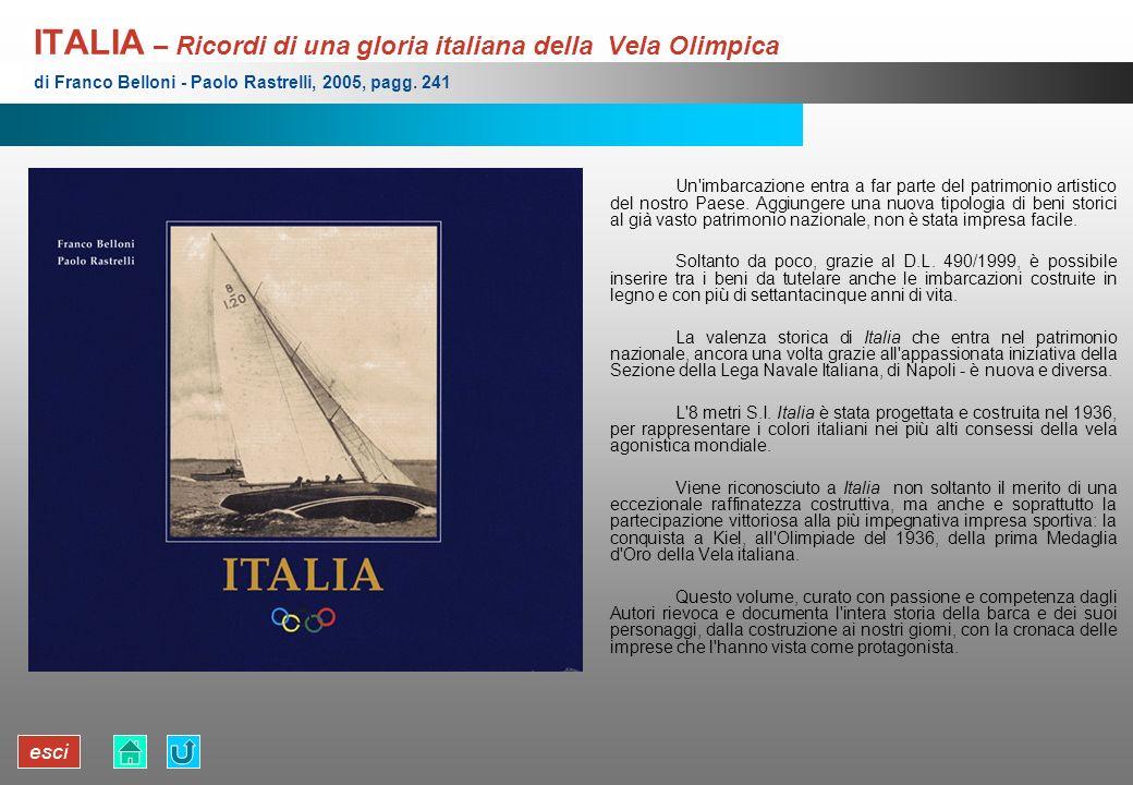 ITALIA – Ricordi di una gloria italiana della Vela Olimpica