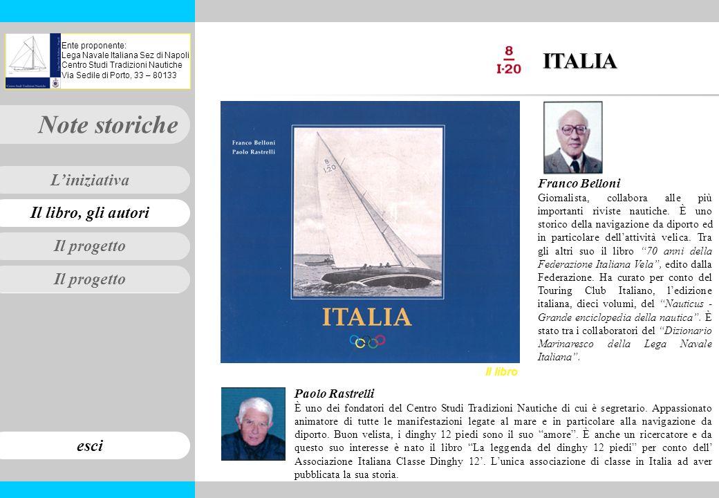 ITALIA Franco Belloni Paolo Rastrelli