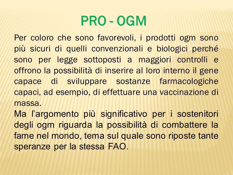 PRO - OGM