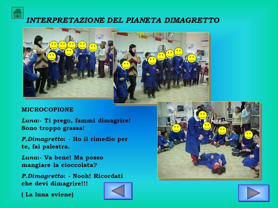 INTERPRETAZIONE DEL PIANETA DIMAGRETTO