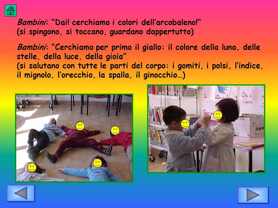 Bambini: Dai! cerchiamo i colori dell'arcobaleno!