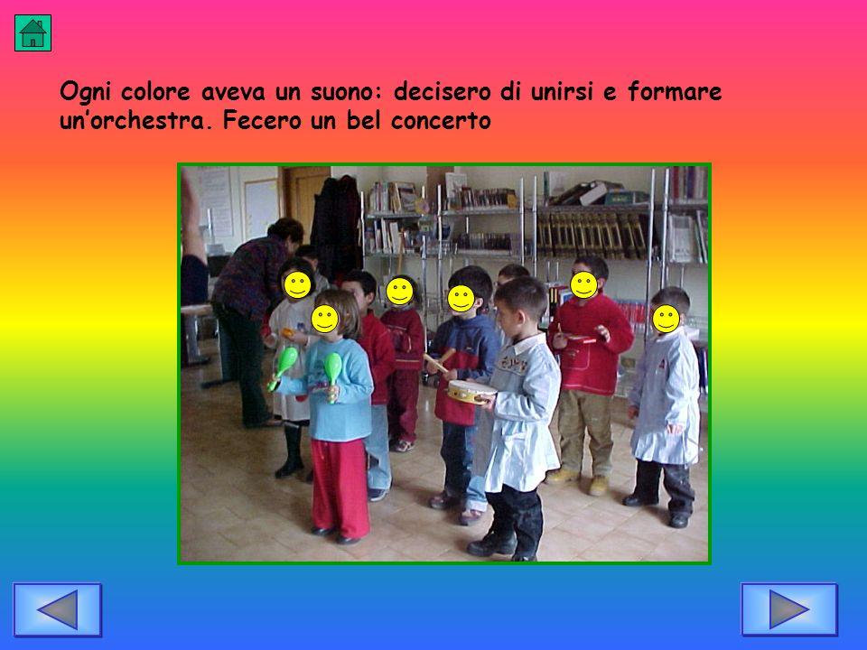 Ogni colore aveva un suono: decisero di unirsi e formare un'orchestra