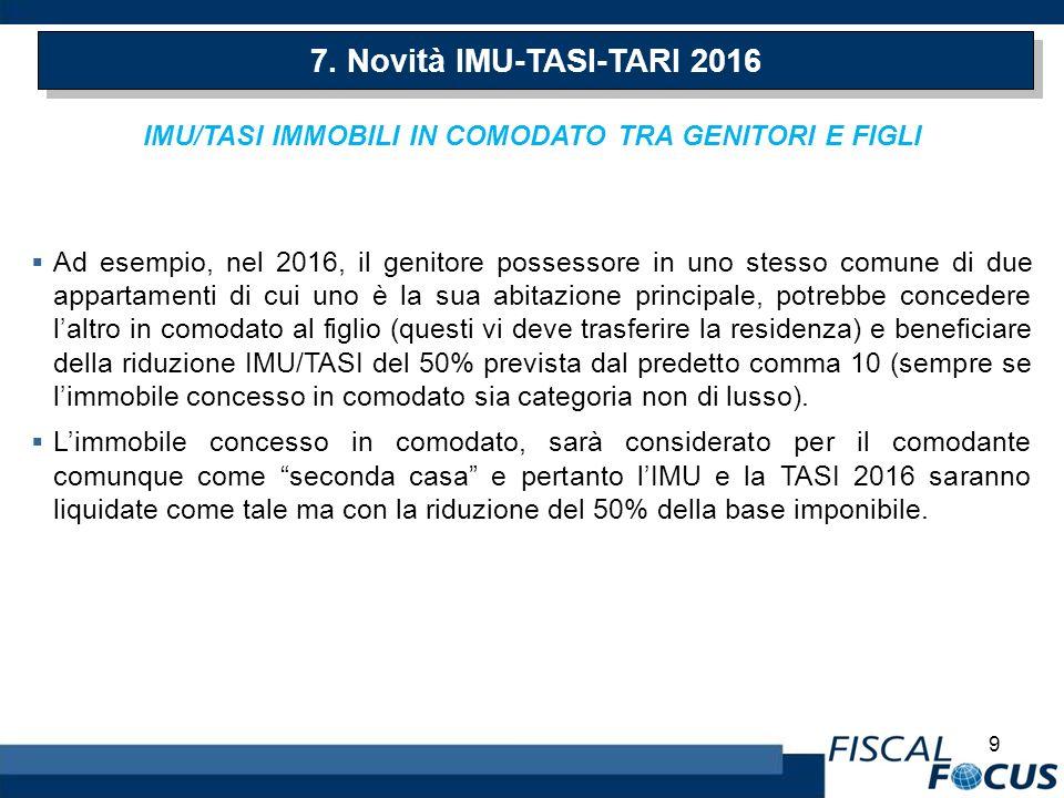 Legge di stabilita 2016 le novita ppt scaricare for Tasi 2016 seconda casa