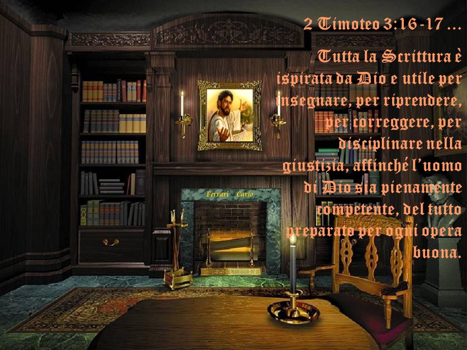 2 Timoteo 3:16-17 ...