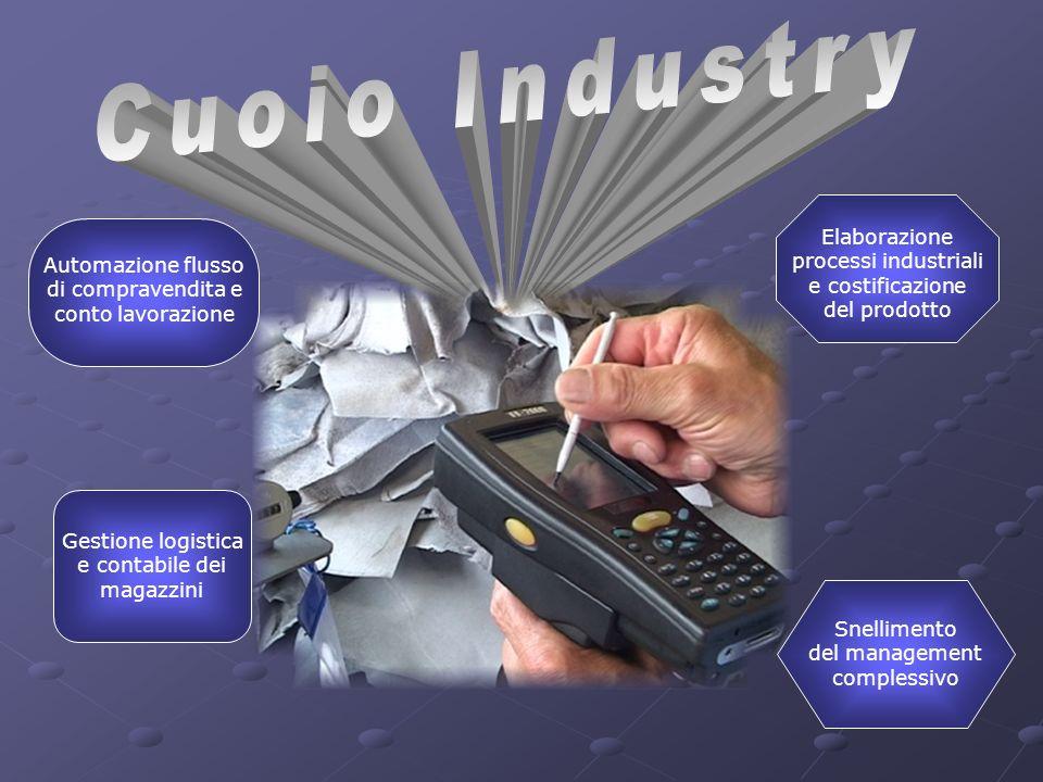 Cuoio Industry Elaborazione processi industriali e costificazione