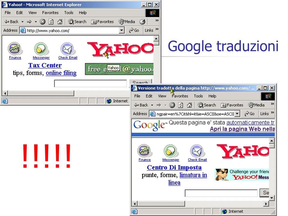 Google traduzioni !!!!!