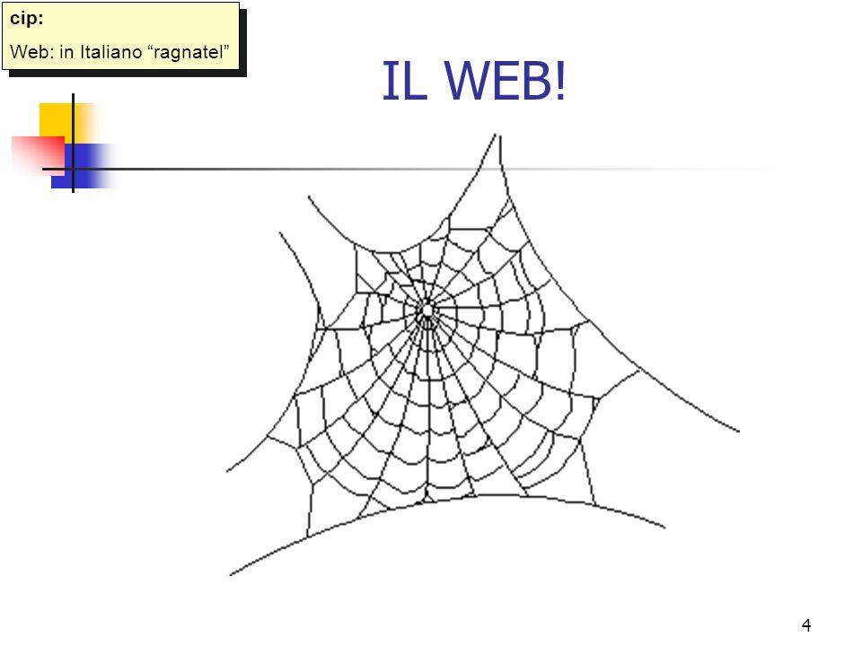 cip: Web: in Italiano ragnatel IL WEB!