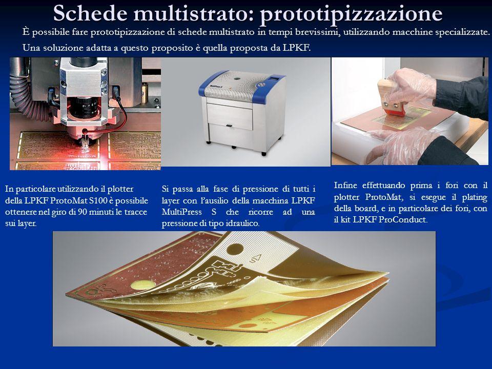 Schede multistrato: prototipizzazione