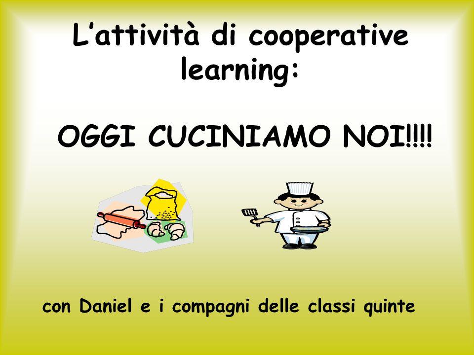 L'attività di cooperative learning: