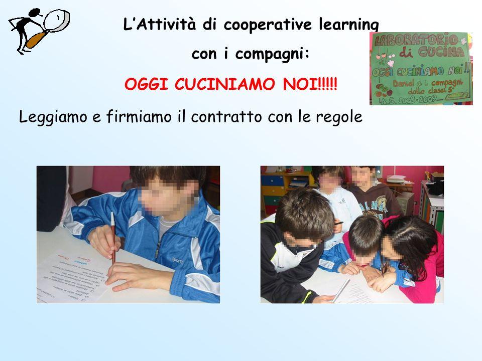 L'Attività di cooperative learning