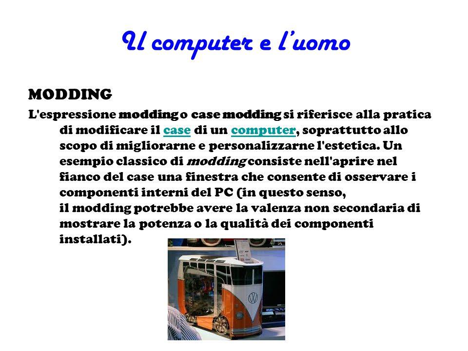 Il computer e l'uomo MODDING