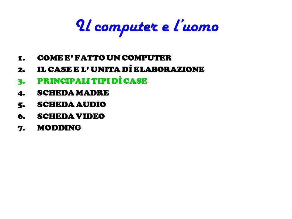Il computer e l'uomo COME E' FATTO UN COMPUTER