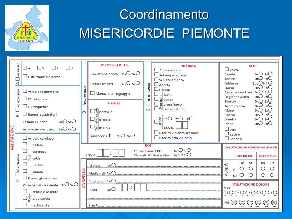 Coordinamento MISERICORDIE PIEMONTE