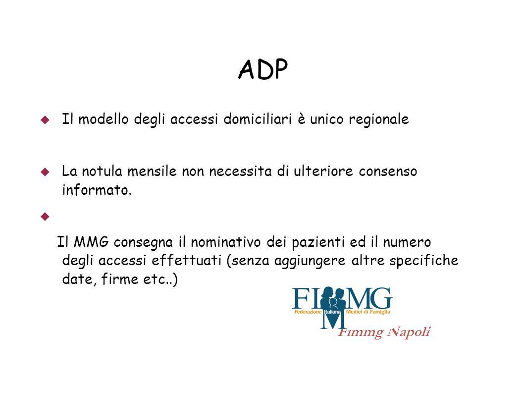 ADP Il modello degli accessi domiciliari è unico regionale